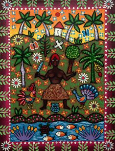 Oggun - by Maria Eugenia Rodriguez - Cuba