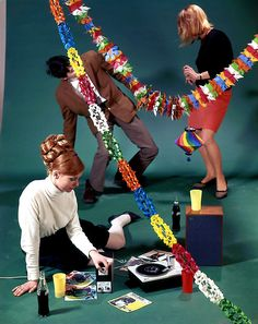 1960s Record Party