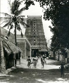 Kala Ksetram, hinducosmos: Tirumalai Temple Old Photo Scan of...