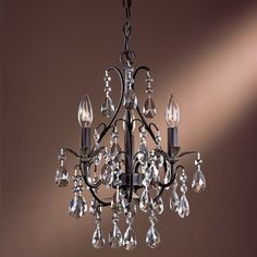 Castlewood Crystal Mini-Chandelier by Minka-Lavery at Lumens.com