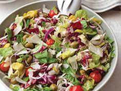Big Italian Salad Recipe | http://aol.it/1pjXUsc