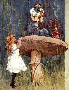 vintage alice in wonderland illustrations | ALICE IN WONDERLAND