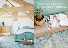 Vintage Vloerkleed / Vintage rug interior  www.nativecolorliving.com
