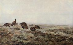 Dropie - Józef Chełmoński (1886)