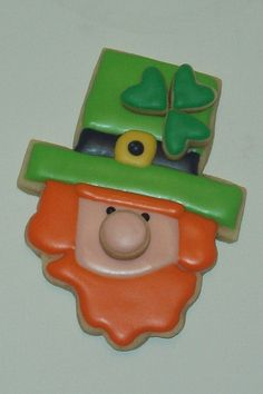 Leprechaun Cookie by Jill FCS  ~  so cute!