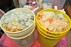 Ice Dyeing......Parfait Style