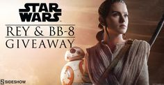 Sideshow - Win Rey and BB-8 Premium Format Figures - http://sweepstakesden.com/sideshow-win-rey-and-bb-8-premium-format-figures/