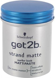 Schwarzkopf Got2Be Strand Matte Matt-Paste (100ml) ab 2,75€ | Preisvergleich bei idealo.de