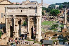 Arch of Severus in Rome
