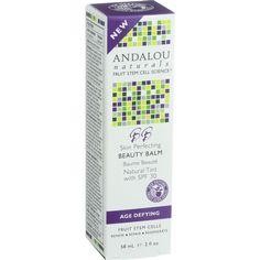 Andalou Naturals Skin Perfecting Beauty Balm - Natural Tint SPF 30 - 2 oz