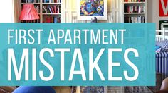 8 Things I Regret Buying for My First Apartment