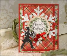 Synnøves Papirverksted: Christmascard and new stamps