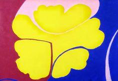 Painting by Monica Klemming // Malva // 70 x 50 cm // Acryl, paper