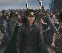 """saw you coming"""" """"Of course you did"""" And THIS is why I feel Loki isn't dead! Heimdall KNEW what was going on long before anyone. He KNEW what Loki was doing. Loki Thor, Loki Laufeyson, Marvel Dc Comics, Marvel Avengers, Loki Gif, Thomas William Hiddleston, Tom Hiddleston Loki, Marvel Characters, Marvel Movies"""