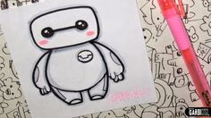 Baymax from Big Hero 6 - How To Draw Chibis and Kawaii Characters ...