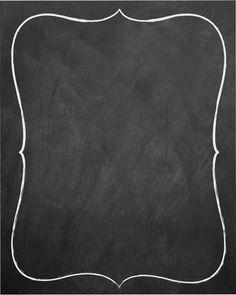 Blank Chalkboard Sign -  Replacement Chalkboard - Alternative Chalkboard - LARGE SIZE. $20.00, via Etsy.