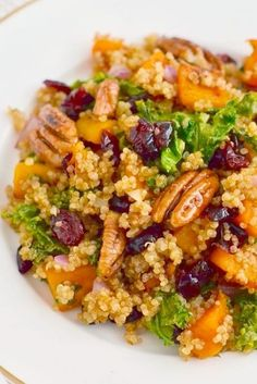 Veggie Recipes, Whole Food Recipes, Vegetarian Recipes, Cooking Recipes, Healthy Recipes, Whole Foods, Vegetarian Salad, Quinoa Salad Recipes, Thanksgiving Side Dishes