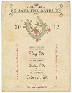 mark your calendars! my personal favorite craft market! #horseshoemarket #luckyfinds