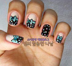 Kawaii nails Y(^@^)Y