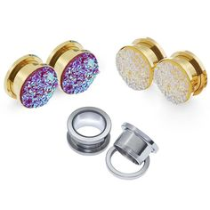 Find More Body Jewelry Information about 3pair Welcomed Ear Piercing Jewelry for Pierces Ear Skins Expansions Flesh Ear Tunnels Plugs Earring Studs Plug In Stock,High Quality jewelry tester,China jewelry for sale wholesale Suppliers, Cheap plug in car cooler from Longbeauty Official Store on Aliexpress.com