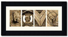 The Letter Art Company | Alphabet Photography | Letter Photos
