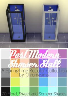 chromasims Post Modern Shower | Sims 4 Updates -♦- Sims Finds & Sims Must Haves -♦- Free Sims Downloads