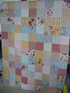 one of the favorite quilts that i've made so far!