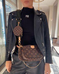 Louis Vuitton bag purse outfit 👌 Available now ♥️♥️M Look Fashion, Fashion Bags, Korean Fashion, Fashion Accessories, Fashion Outfits, Womens Fashion, 2000s Fashion, Fashion Spring, Modest Fashion