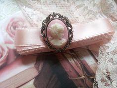 ballet ribbon and brooch