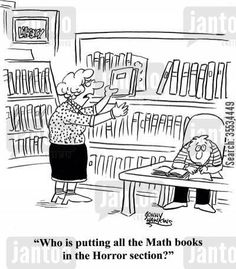Horror Math Books