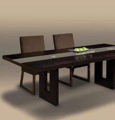 Creative Elegance Zen Dining Table Schoenfeldinteriors Classic Home Furniture Unique