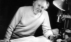 Ronald Searle, British cartoonist best known for his Morbid Anatomies and St. Trinian's.