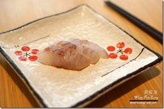 Fresh sea bass sashimi in  Miraku Japanese Buffet Review