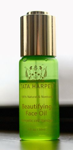 """Right now, I can't live without the Tata Harper Beautifying Face Oil."" — Emma Roberts (Photo: Jennifer S. Altman for The New York Times)"