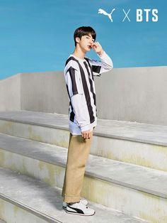 BTS X PUMA ❤️ Nuestro mundialmente guapo Jin ❤️