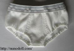 Nuno life: underwear pattern/tutorial for boy doll