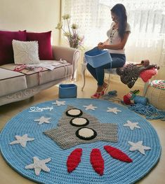 1 million+ Stunning Free Images to Use Anywhere Crochet Rug Patterns, Crochet Doilies, Baby Girl Crochet, Crochet For Kids, Animal Rug, Knit Rug, Crochet Carpet, Space Theme, Baby Kind