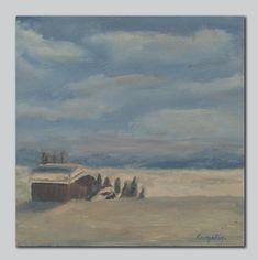 Original Landscape Painting by Kresimir Kargacin