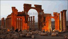 La antigua ciudad de Palmira en Siria