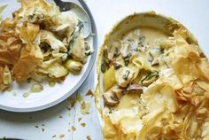 Joe's Chicken Pot Pie - Would sub gluten-free phyllo