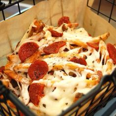 pizza French fries?!