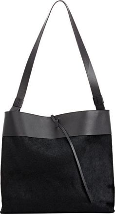 ec8976960146 Tie-Close Tote-Black. I simply can t get enough of these