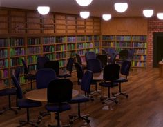 """Check out new work on my @Behance portfolio: """"CG Library"""" http://be.net/gallery/49651595/CG-Library"""