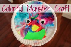 I love the  Monster Marker Prints  shared by Housing a Forest.   Last weekend I needed a quick & easy monster craft for our Halloween Carniv...