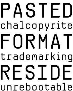 Suffix-Mono (Suffix) 09.2011 Monospace, Gd, Typography, Collage, Type, Artwork, Design, Art Work, Work Of Art