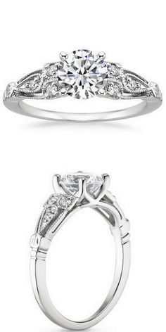Rosabel White Gold Diamond Ring