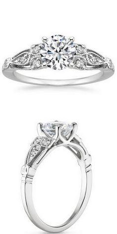 Rosabel White Gold Diamond Ring