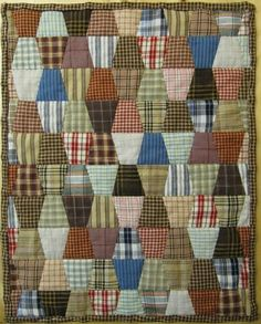 Modelle - English Paper Piecing mit Claudia Schmidt VERY MASCULINE. ALL SHIRT PLAIDS.