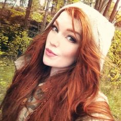 Beware of the Hooded Red Head in the forest....