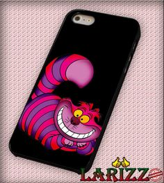 """Alice Wonderland Cheshire Cat for iPhone 4/4s, iPhone 5/5S/5C/6/6 , Samsung S3/S4/S5, Samsung Note 3/4 Case """"007"""""""